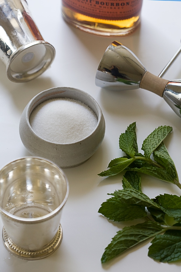 Mint Julep Granitas | www.acozykitchen.com