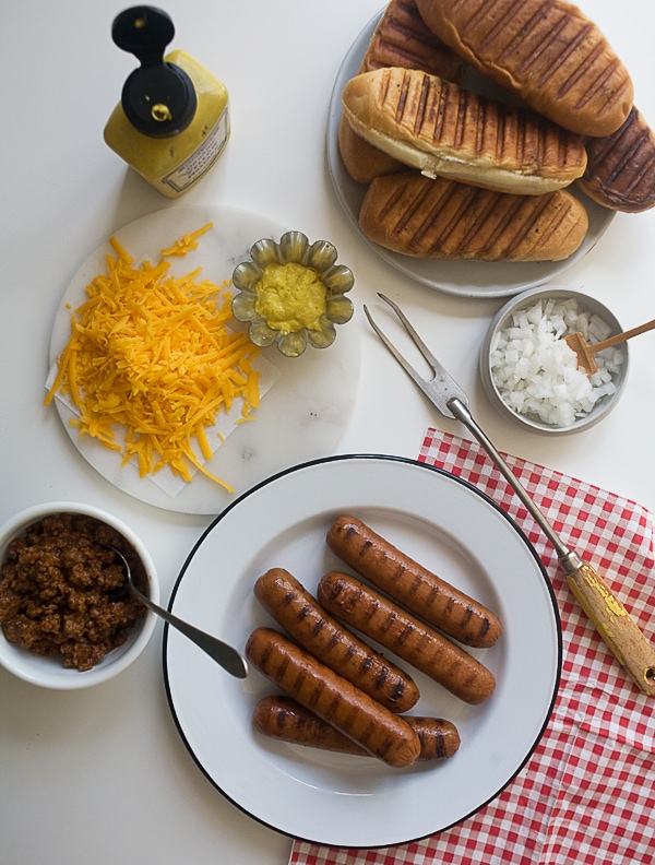 Chili Cheese Dogs // www.acozykitchen.com