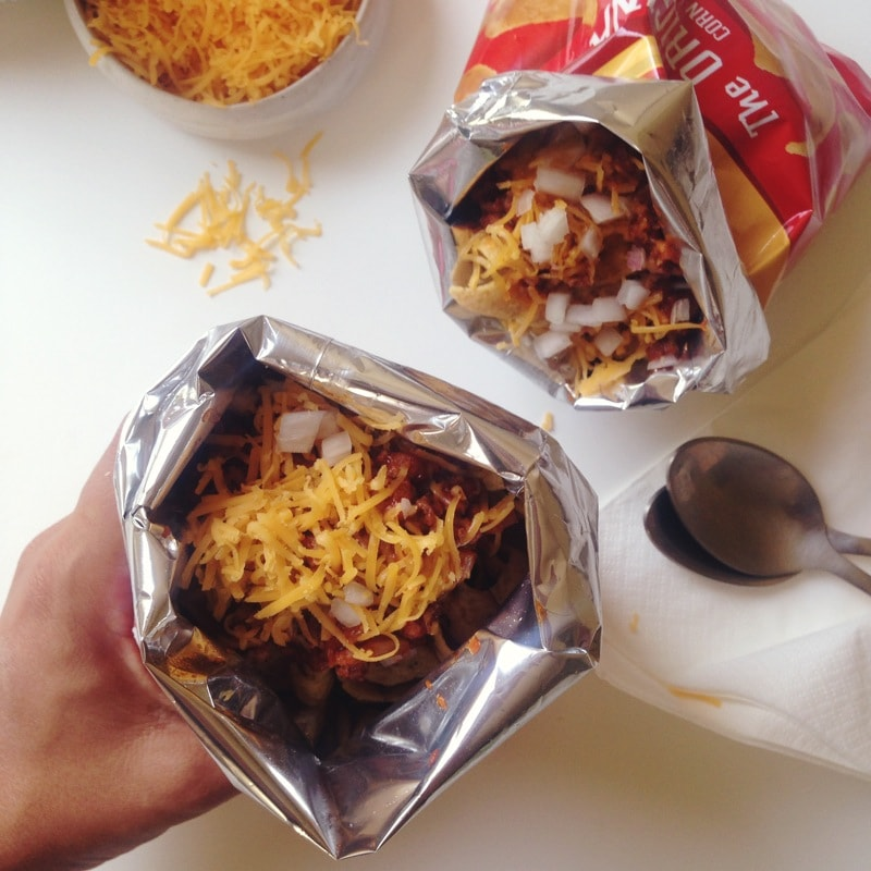 Fritos Chili Pie // www.acozykitchen.com