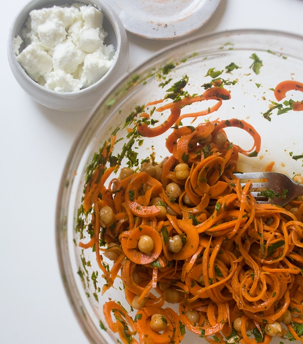 Moroccan Carrot Salad with Golden