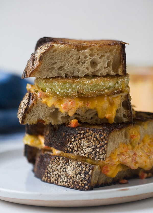 ... And Fried Green Tomato Pimento Grilled Cheese Recipes — Dishmaps