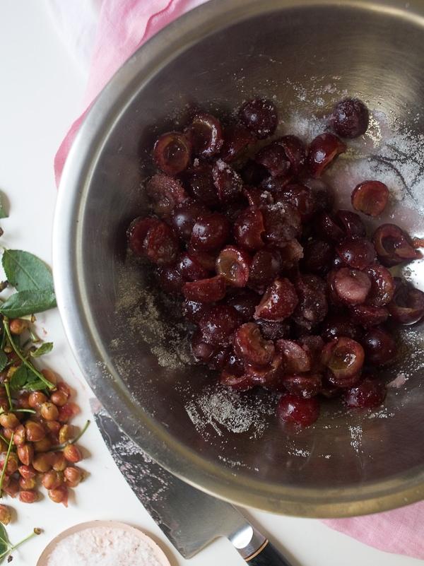 Sour Cherry Hand Pies | www.acozykitchen.com