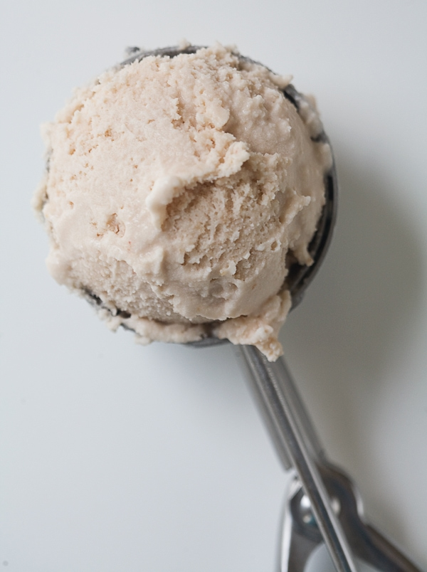 Cherry Ice Cream with Whole Wheat Crisp | www.acozykitchen.com