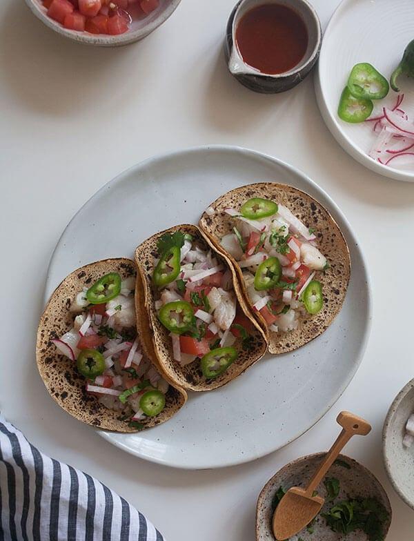 Fish Tacos | www.acozykitchen.com