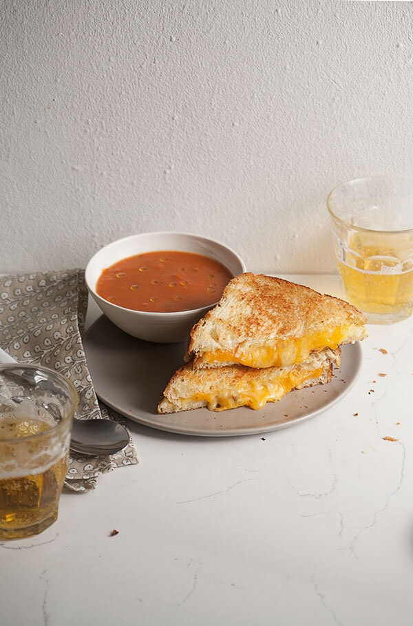 How to Make a Fancy-Ass Grilled Cheese | www.acozykitchen.com