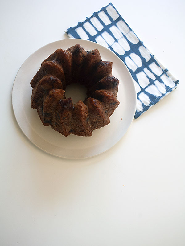 Whole Wheat Blueberry Bundt Cake | www.acozykitchen.com
