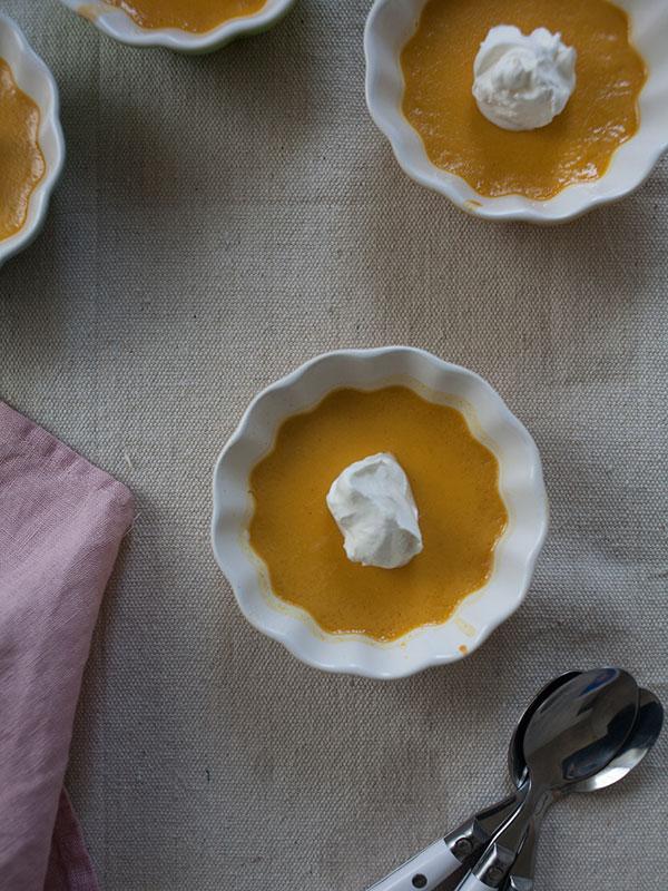 Pumpkin Spice Pot de Creme | www.acozykitchen.com
