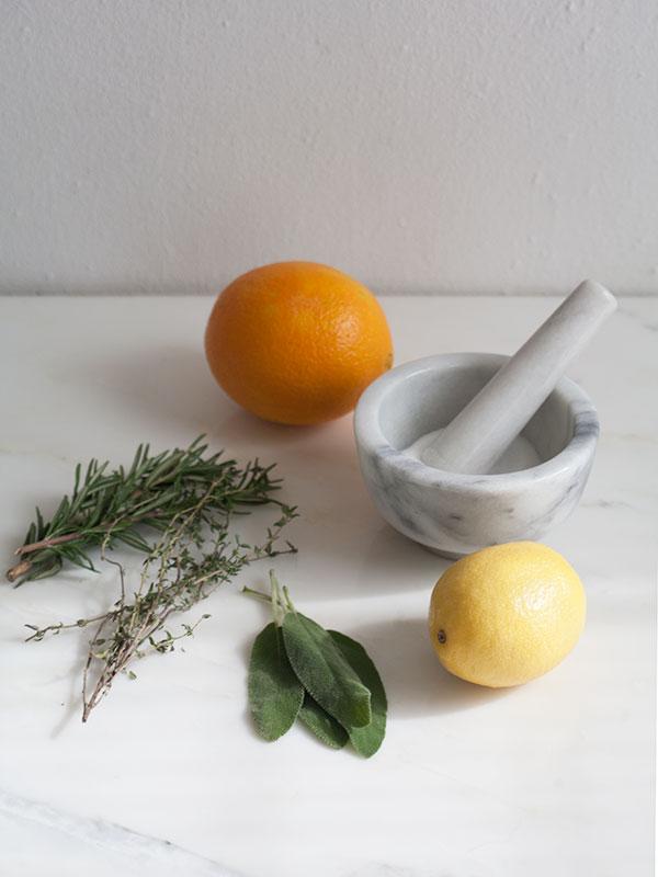 Citrus Dry-Brined Turkey   www.acozykitchen.com