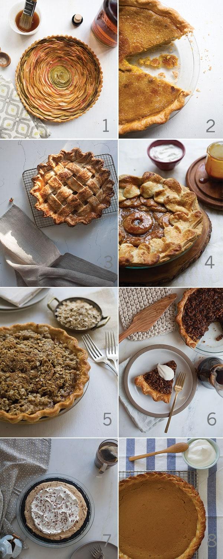 Thanksgiving Pie Situation   www.acozykitchen.com