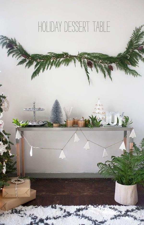 Holiday Dessert Table   www.acozykitchen.com