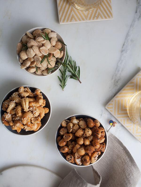 Holiday Nuts, Three Ways | www.acozykitchen.com