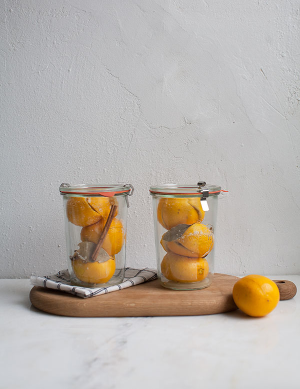 Preserved Meyer Lemons // www.acozykitchen.com