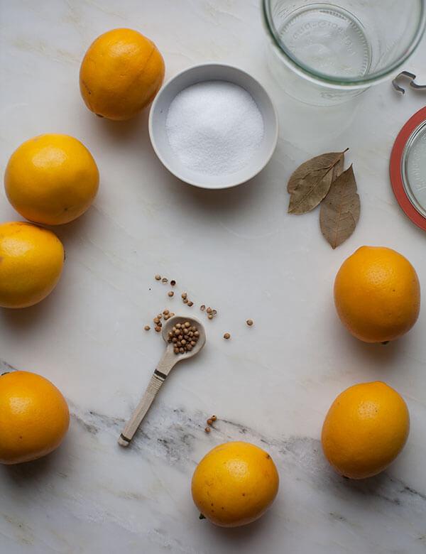 Preserved Meyer Lemons // www.acozykitchen.com