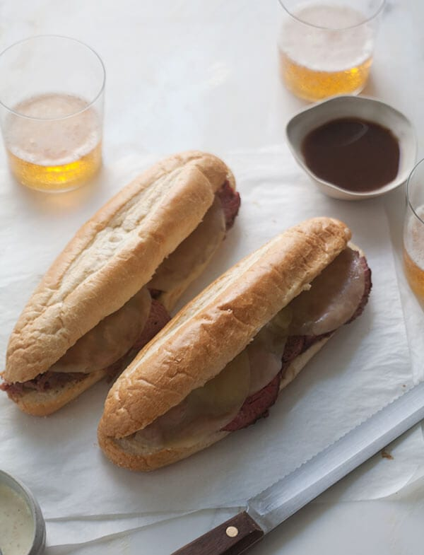 French Dip Sandwiches | www.acozykitchen.com