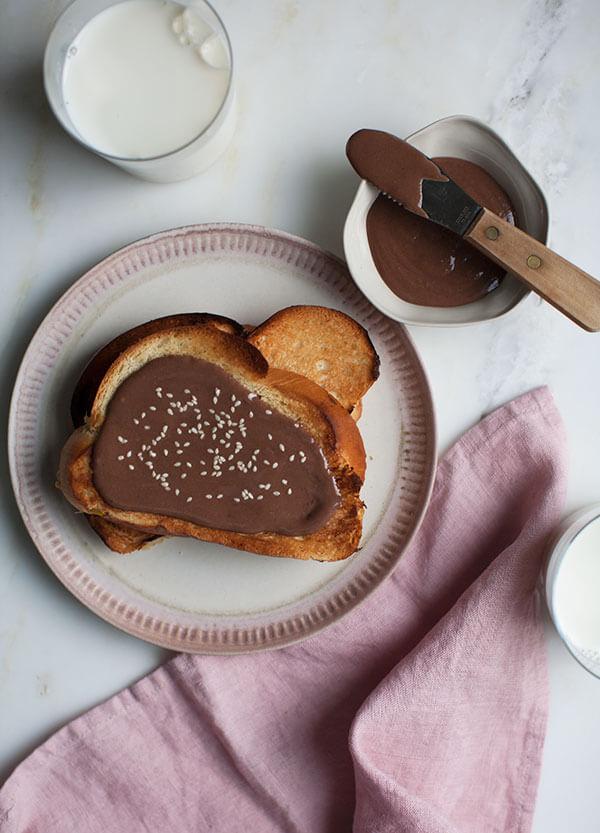Halva Chocolate Spread   www.acozykitchen.com
