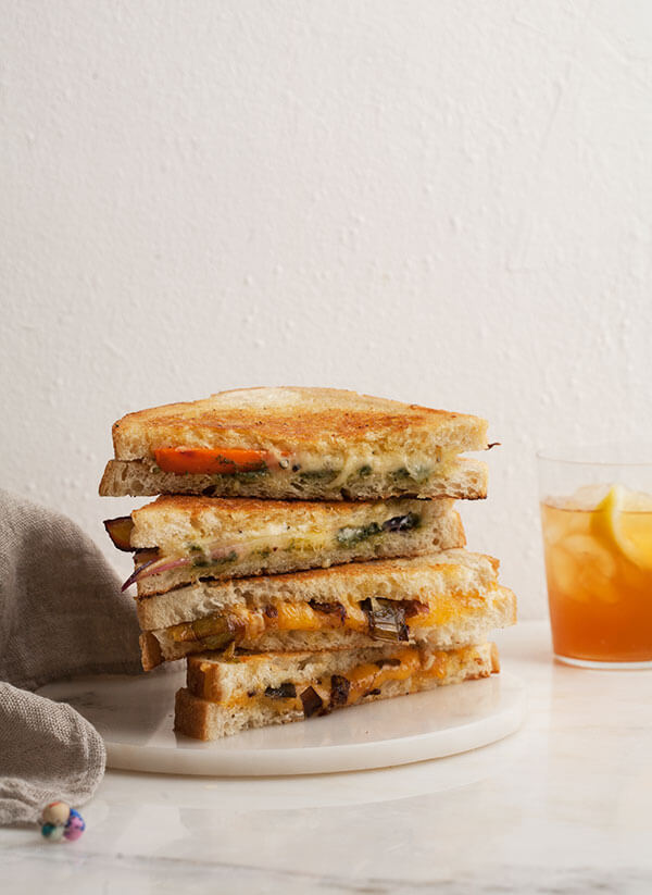 Veggie Grilled Cheese Bar