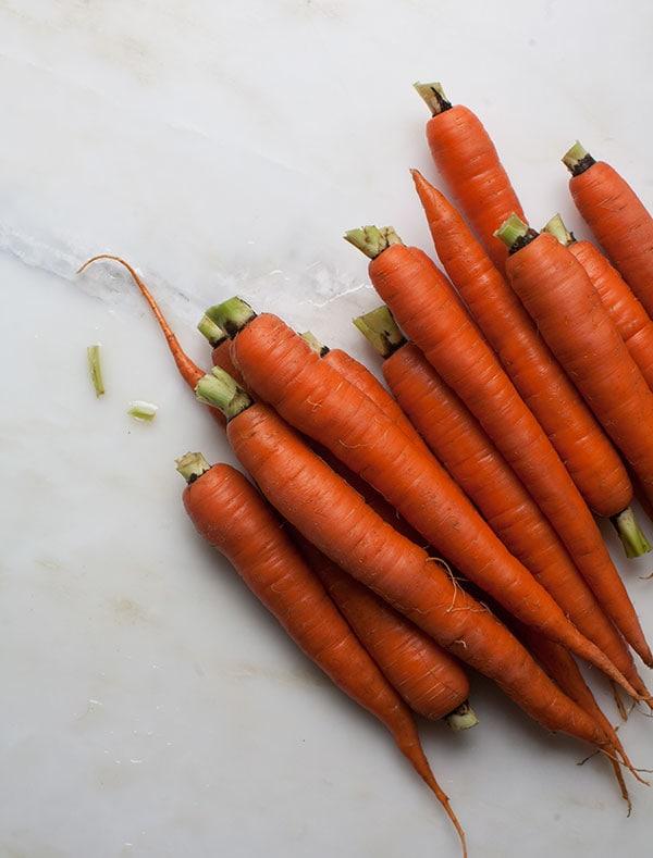 Carrot-y Carrot Soup w/ Furikake