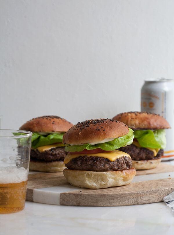 'Everything' Hamburger Buns