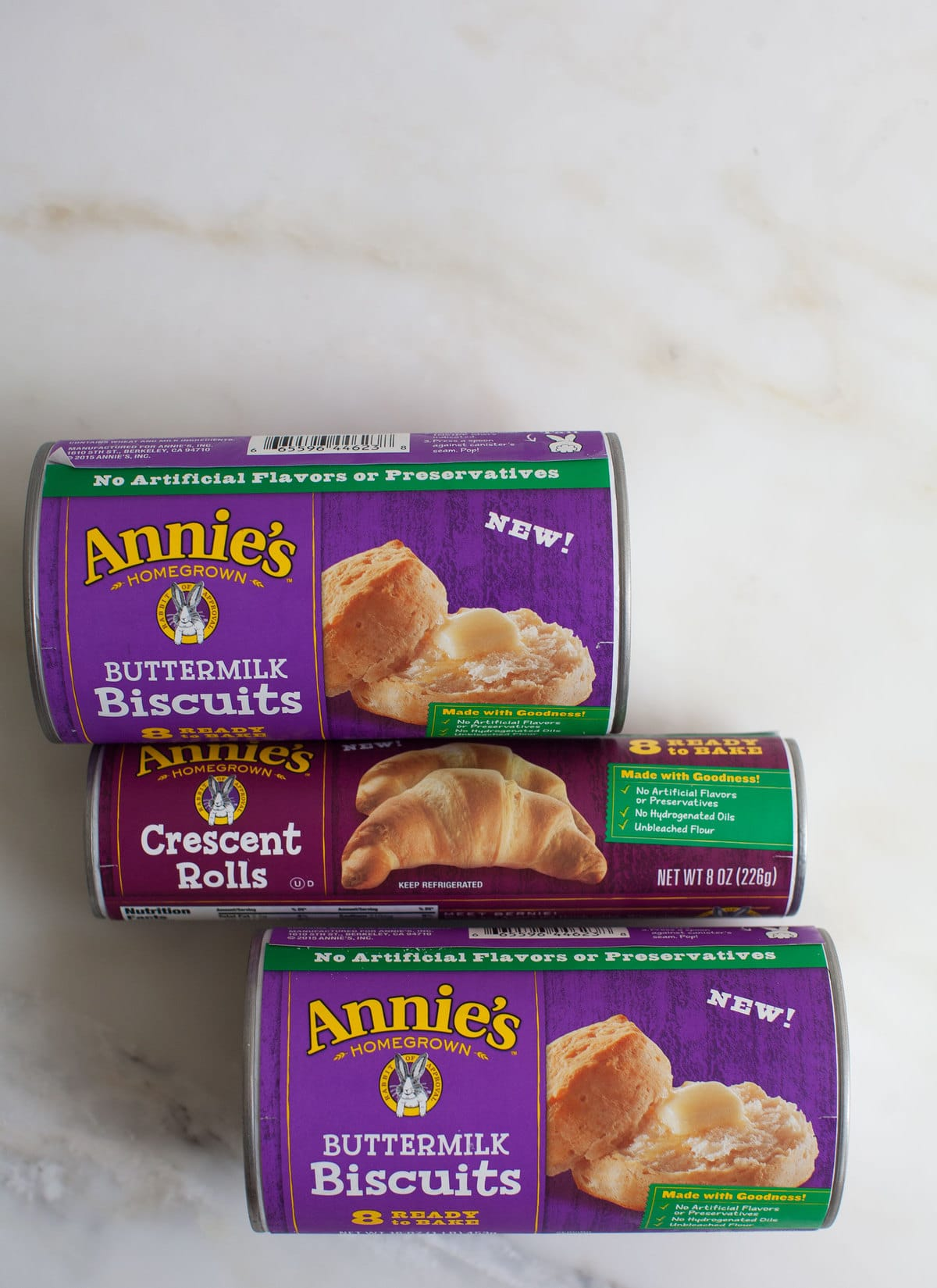 Annie's Buttermilk Biscuits and Crescent Rolls