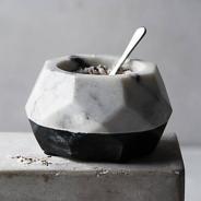 Marble-Salt Pot