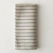 Pinstripe Linen Napkin