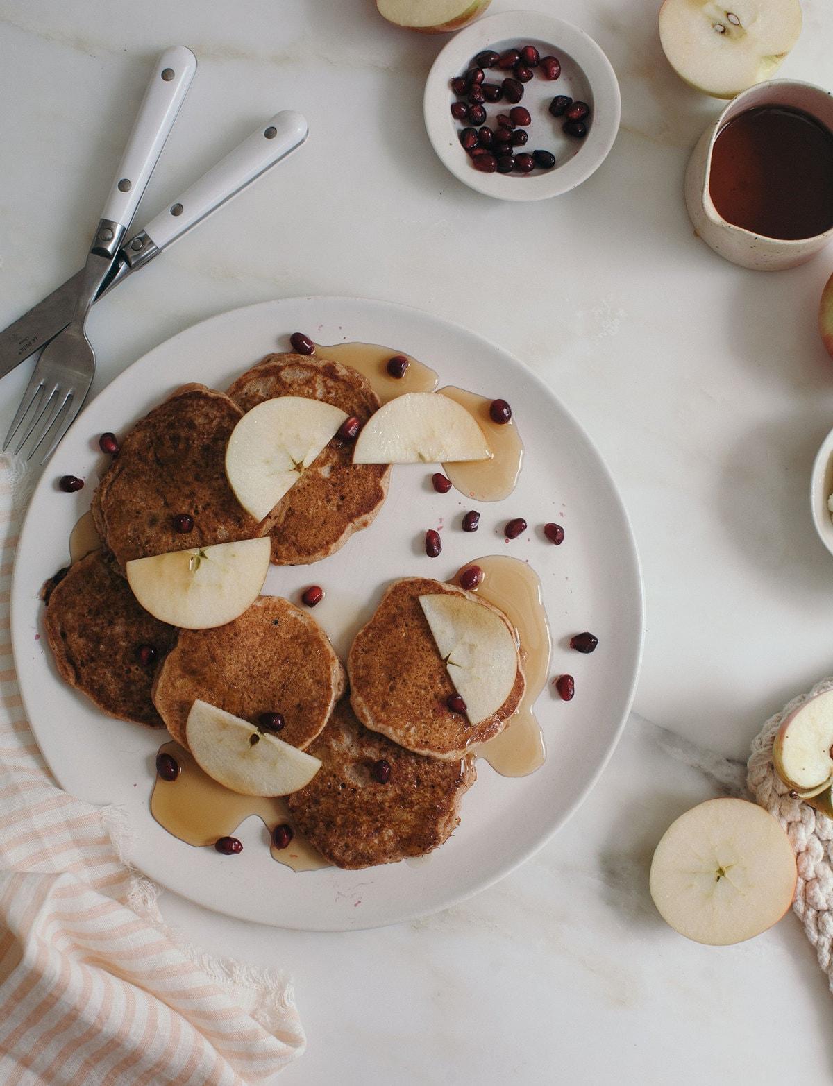 Spelt Apple Pancakes