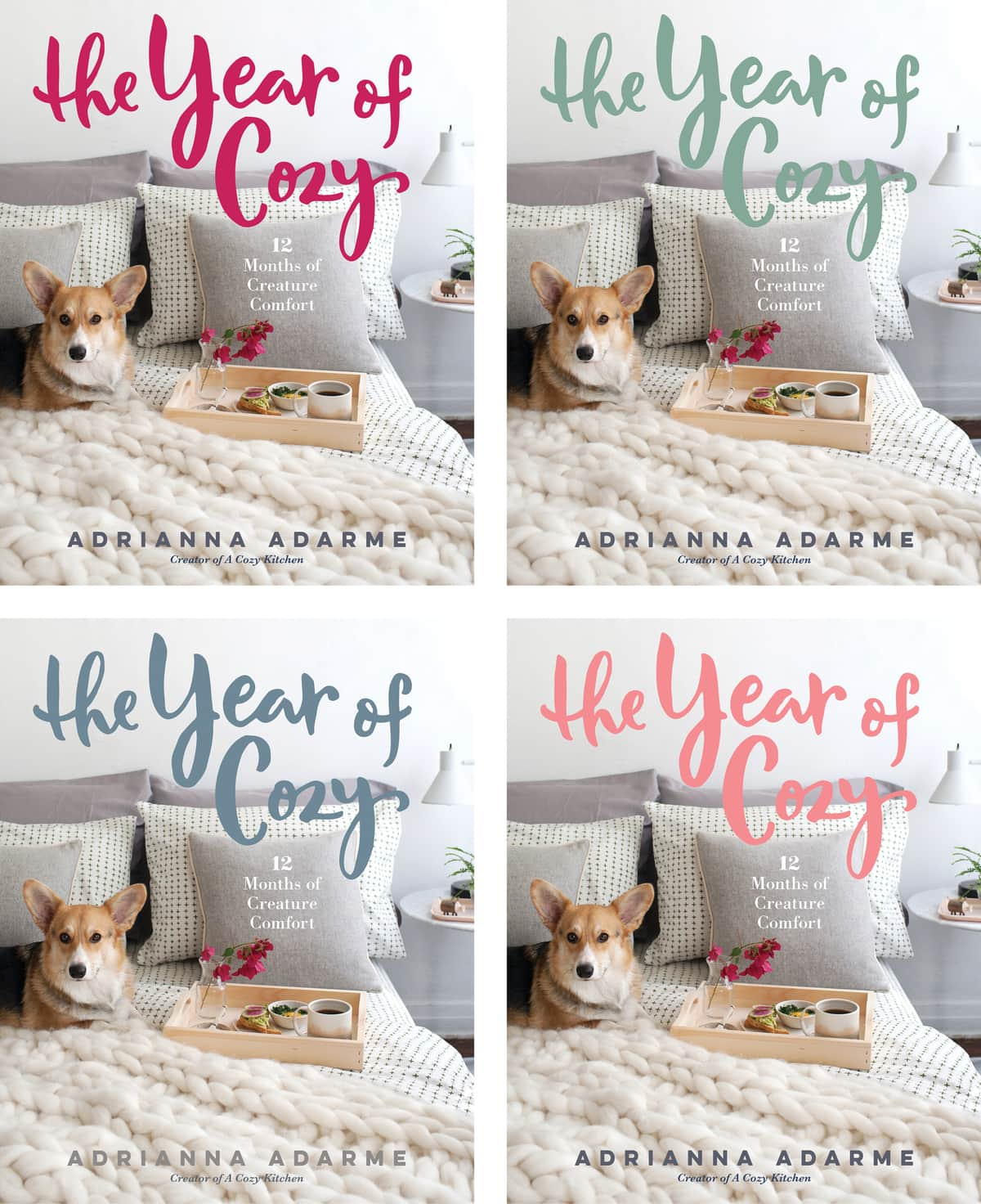 The Year of Cozy - Color Title Options
