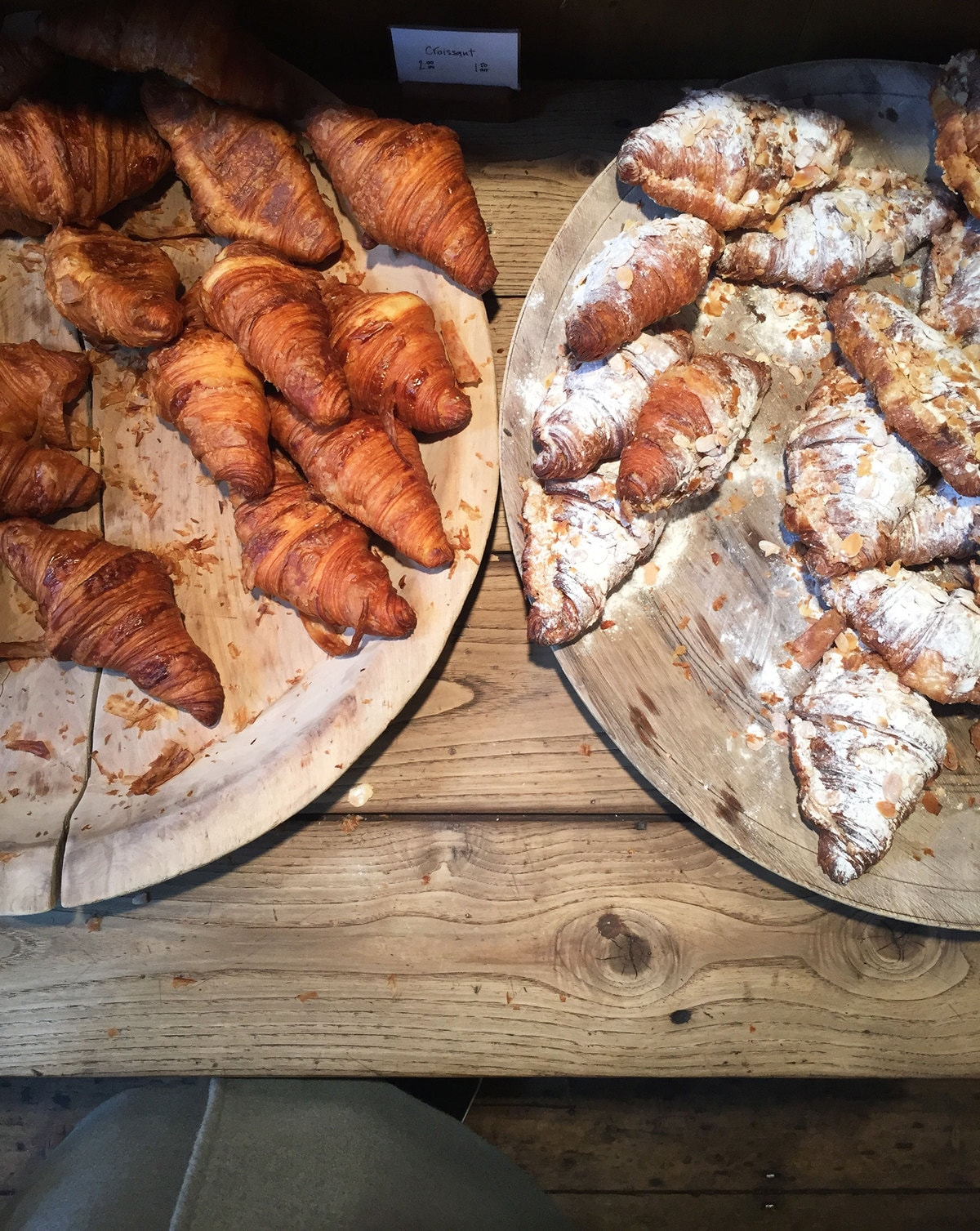 Croissants at Borough Market