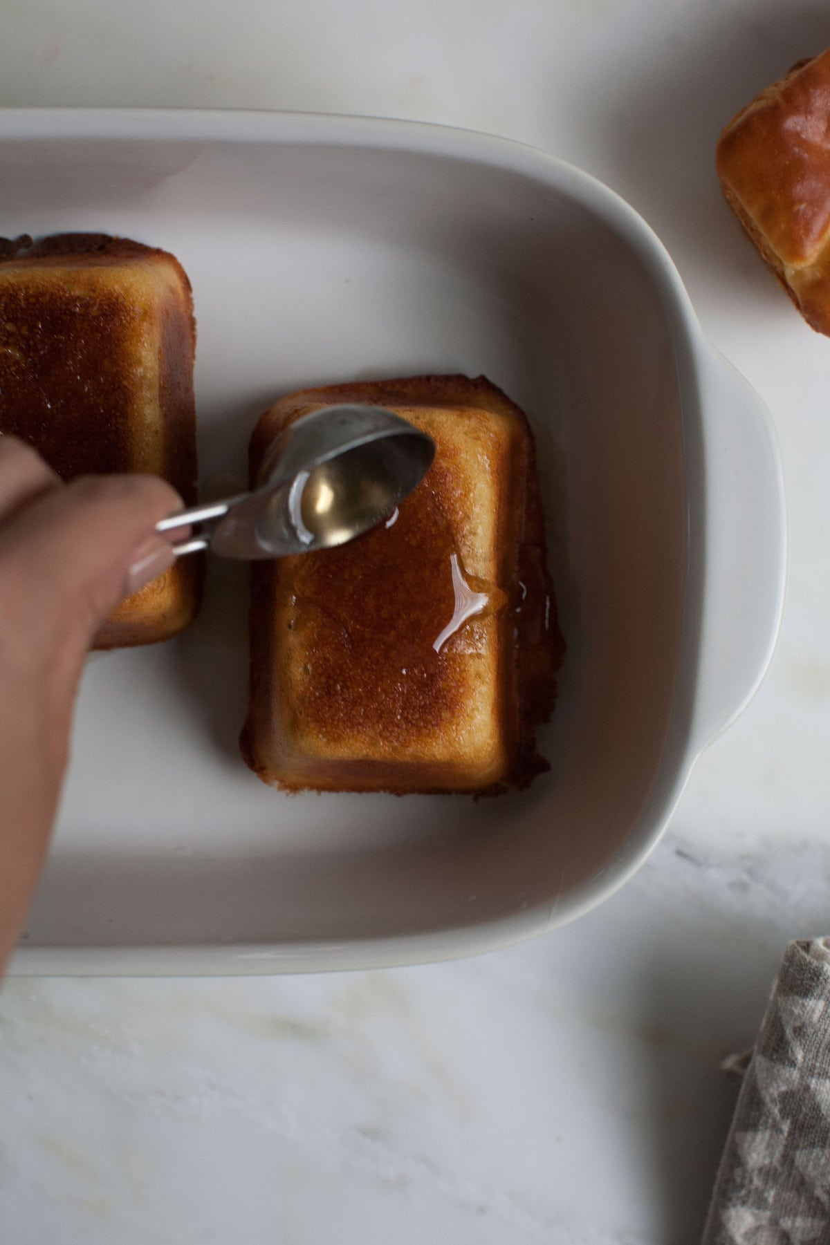 Hot Buttered Baba Au Rhum