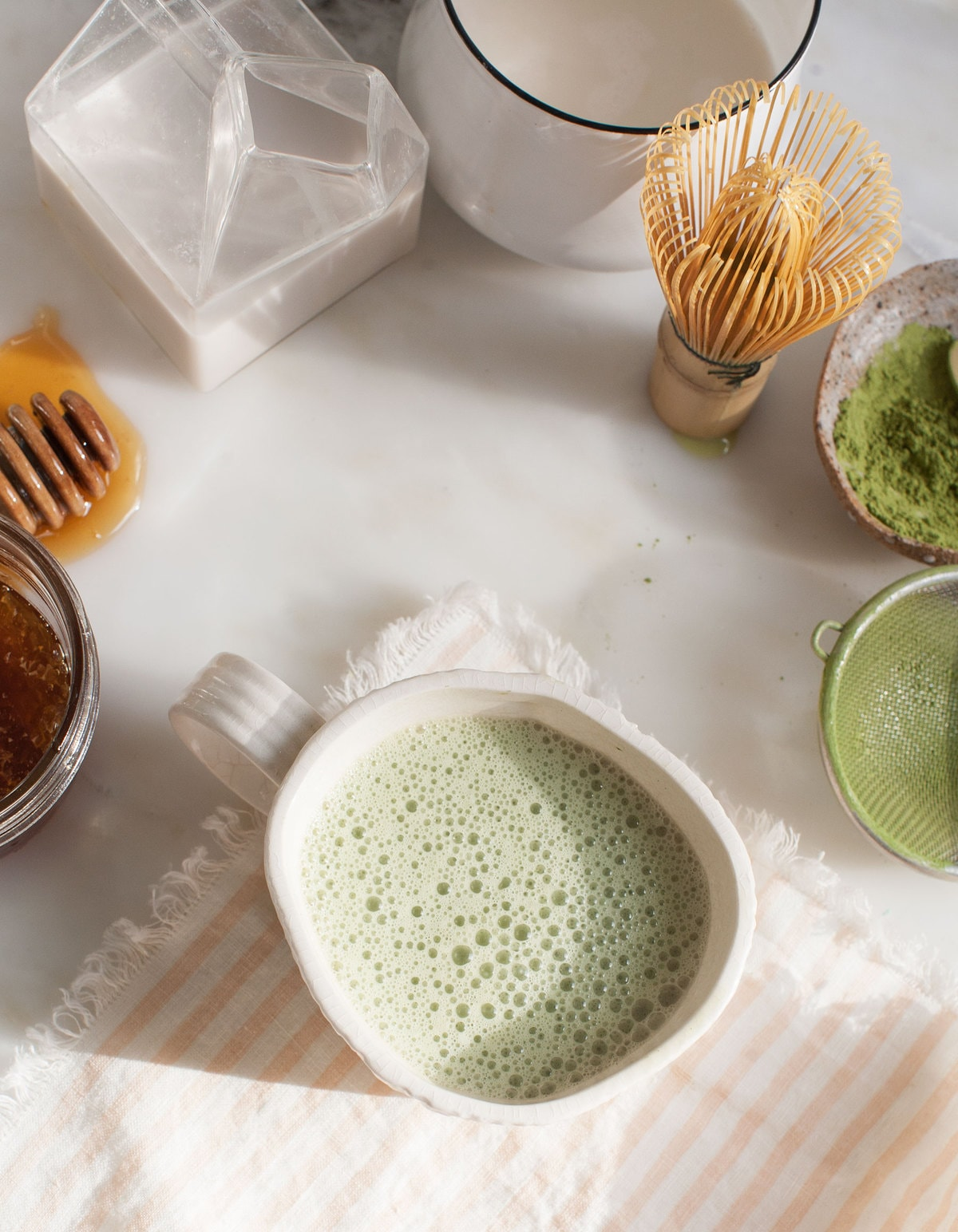 Make a Matcha Latte