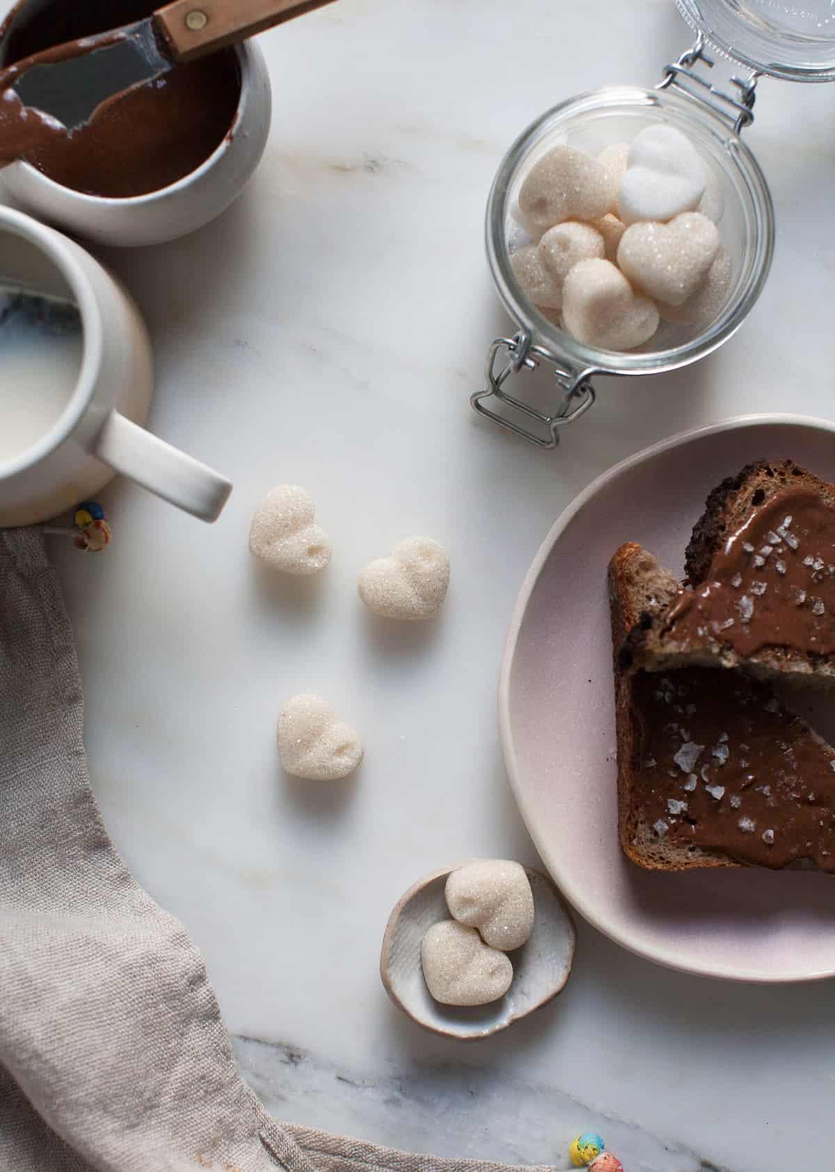 Homemade Sugar Cubes Recipe   A Cozy Kitchen