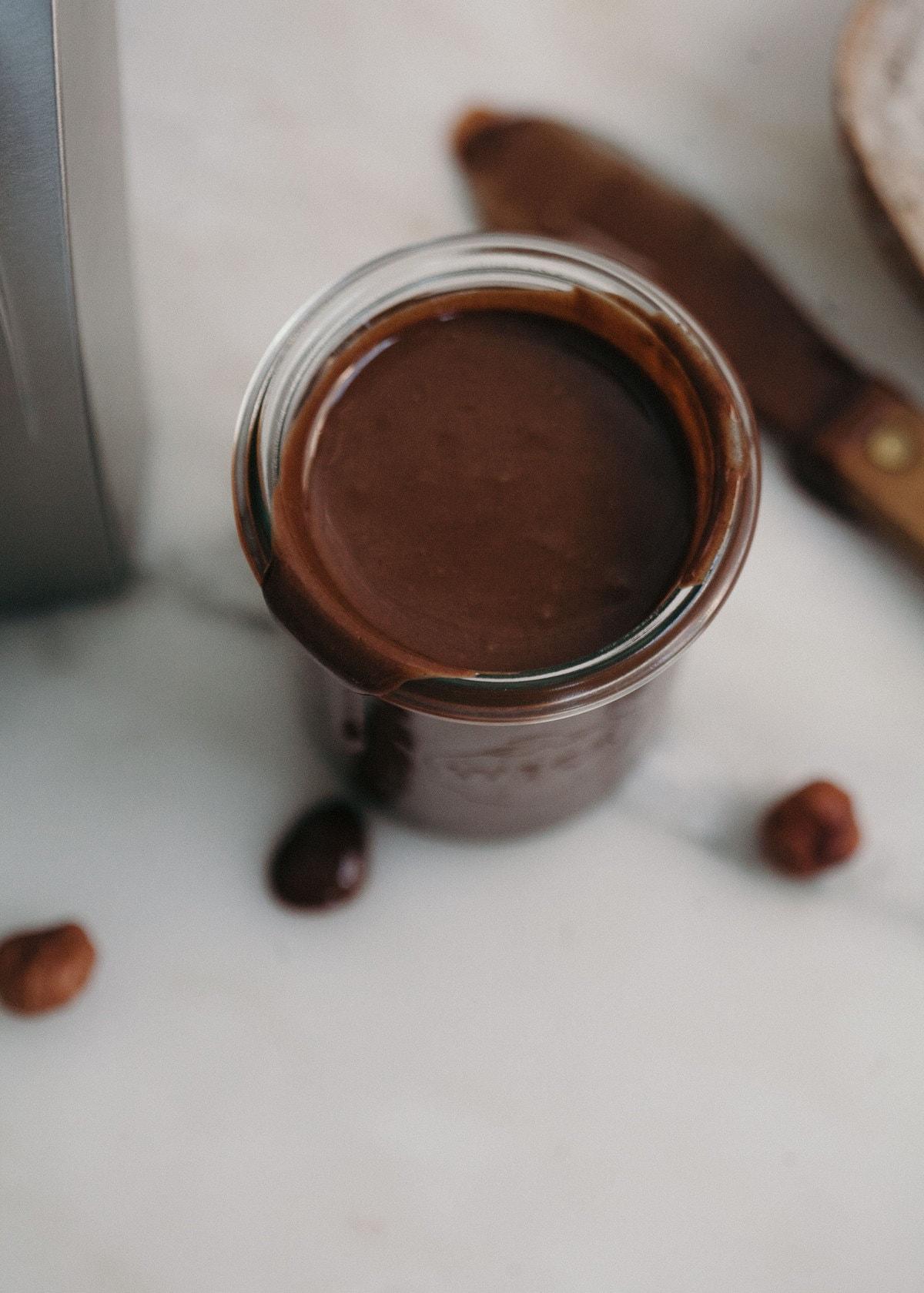 Chocolate Hazelnut Linzer Cookies (Homemade Nutella!)