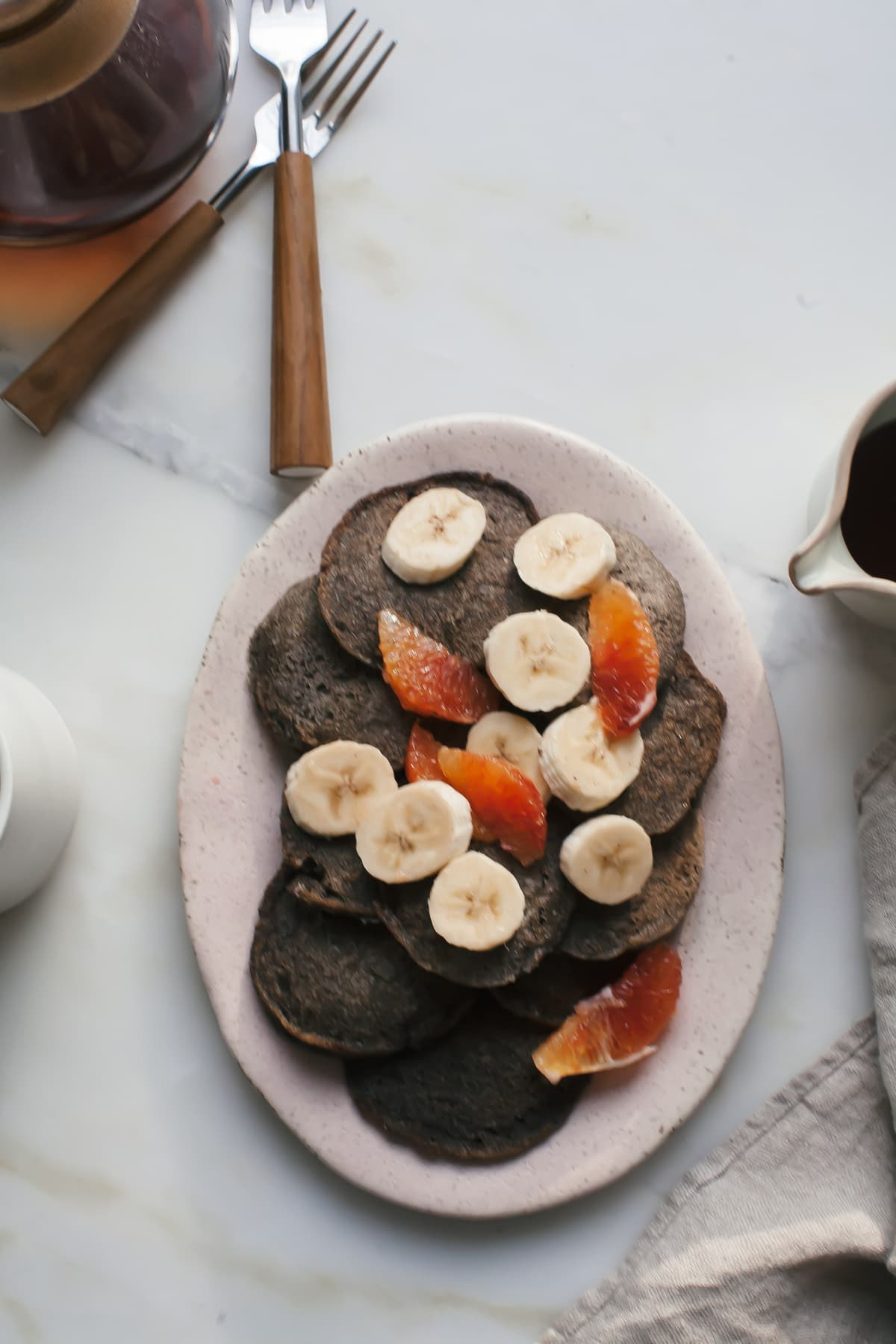 Buckwheat Pancakes (Gluten-Free, Dairy-Free, but not gross!)