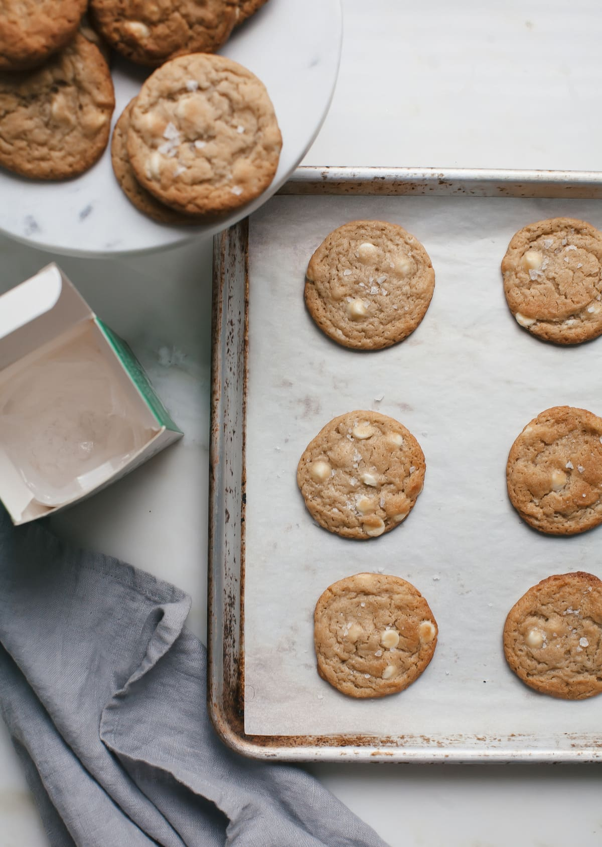 Miso White Chocolate Chip Cookies