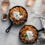 Baked Ziti (For Two) with Burrata