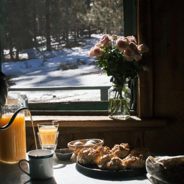 cabin baking scallion black pepper biscuits a cozy kitchen