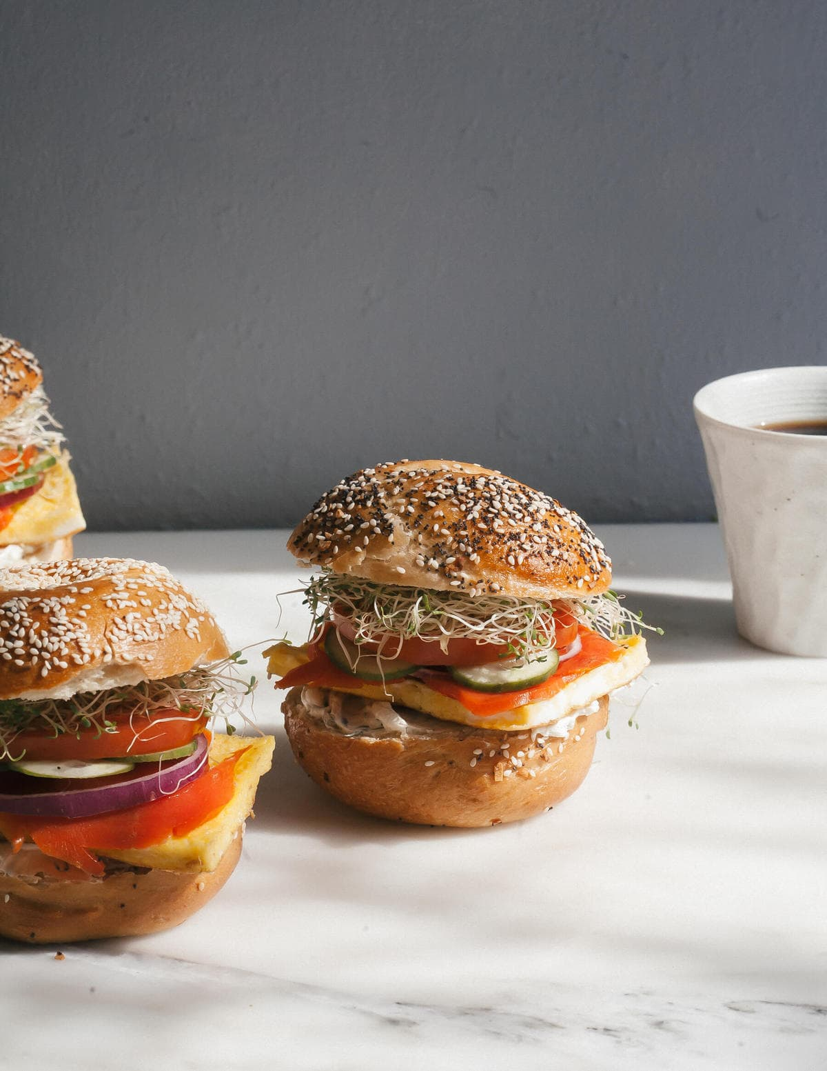 How to Make a Bagel Sandwich