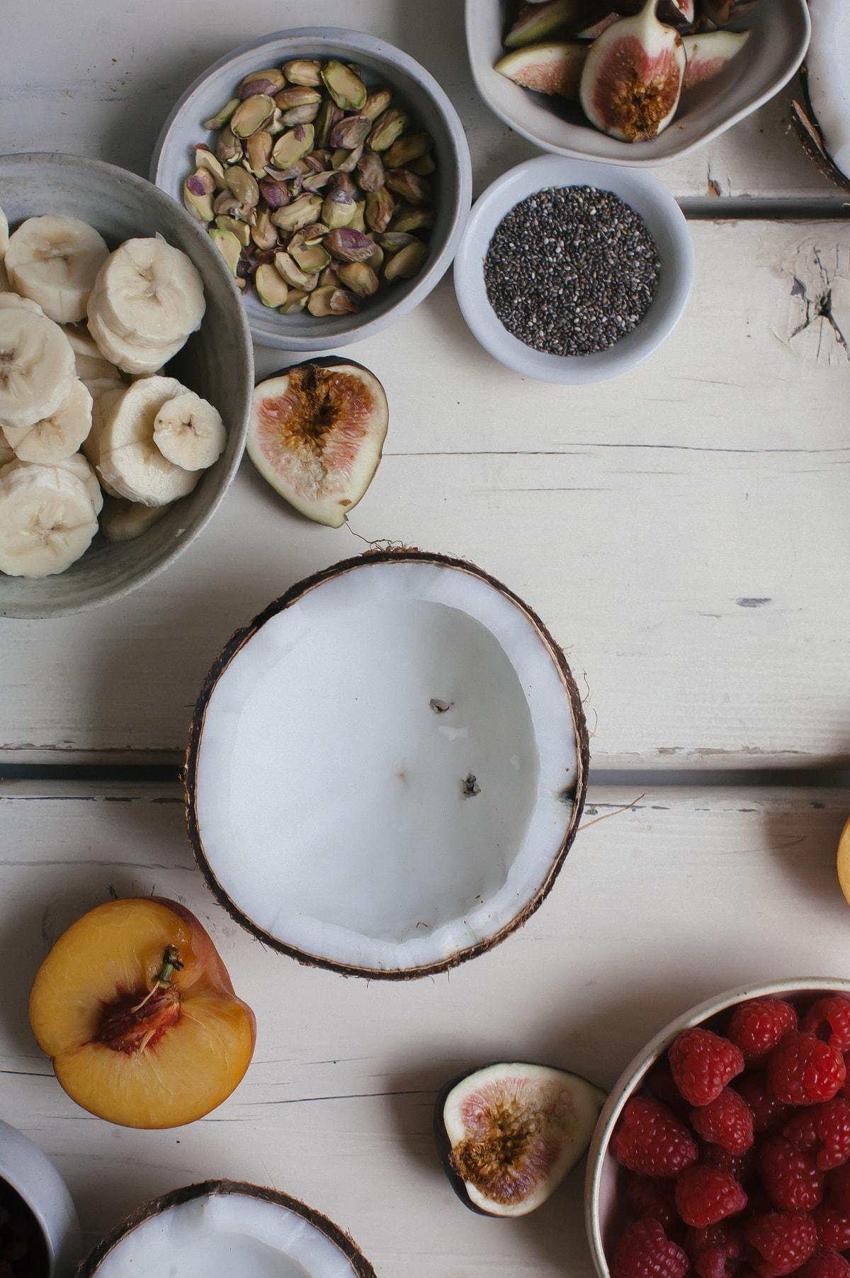 Acaí Coconut Bowls