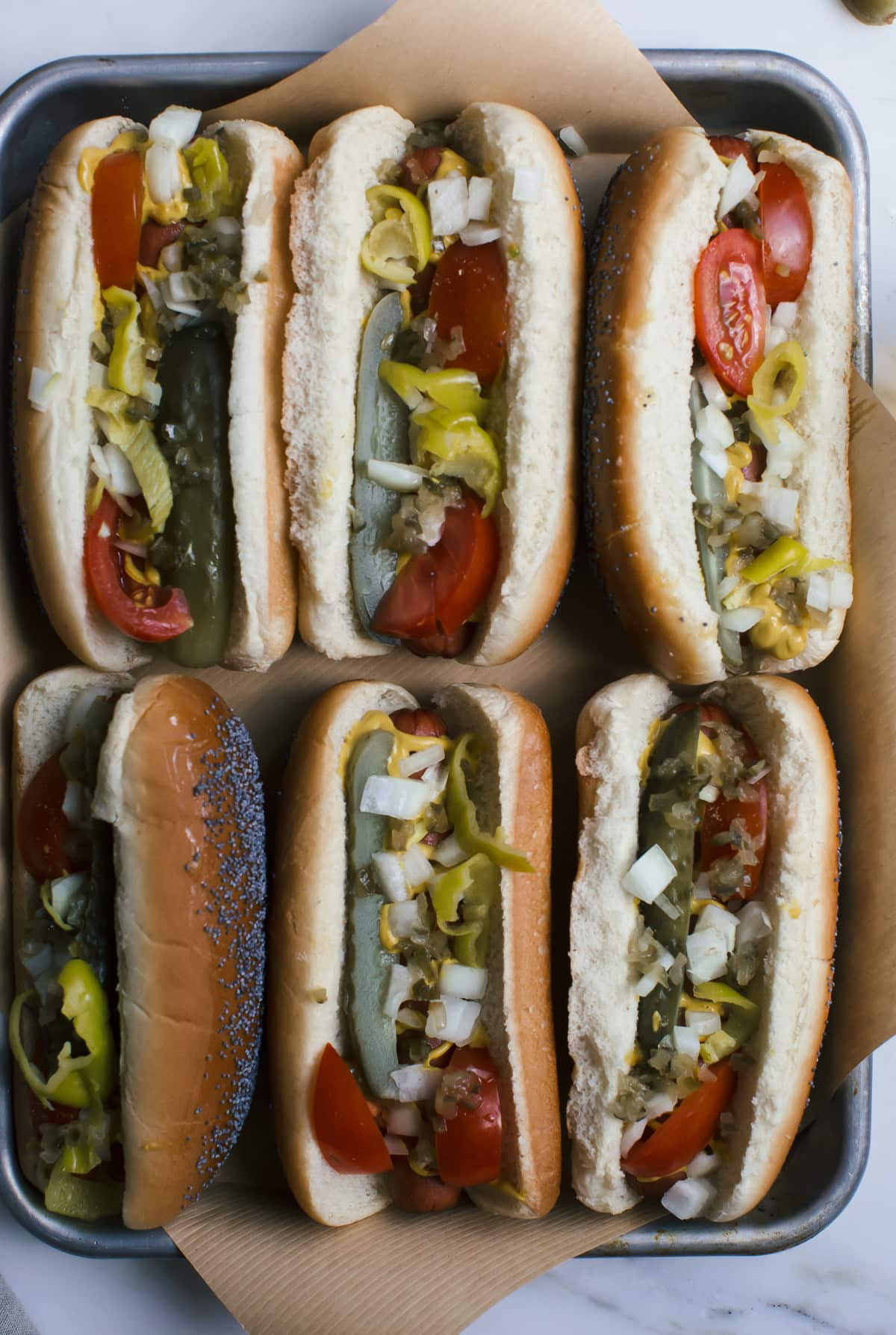 Chicago Style Hot Dogs