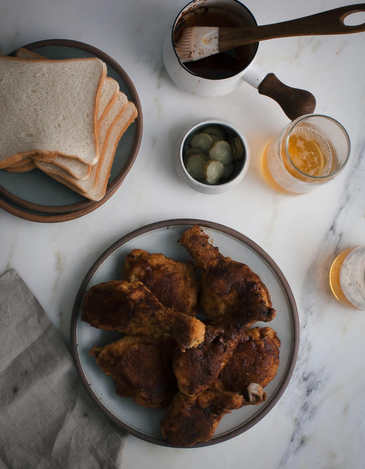Baked Nashville Hot Chicken