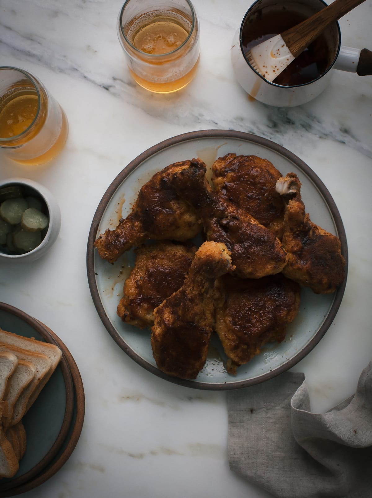 Baked Nashville Hot Chicken
