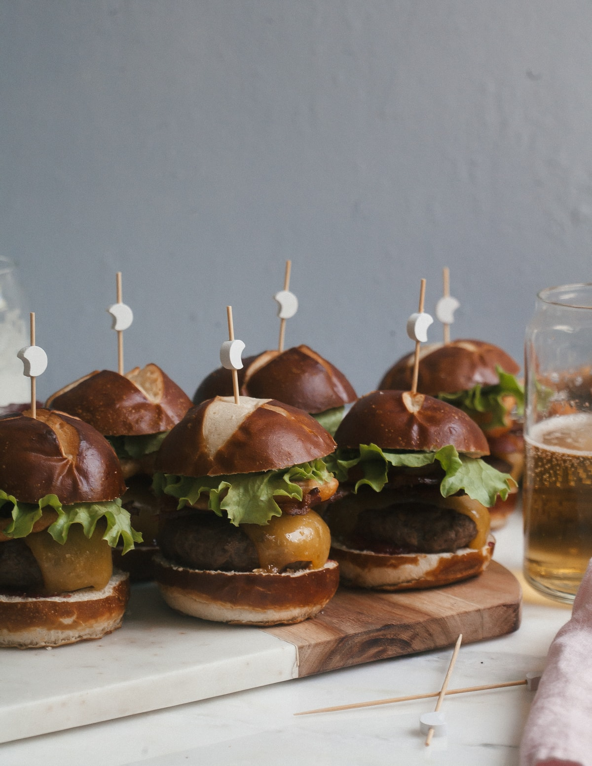 Bacon Western Cheeseburger Sliders