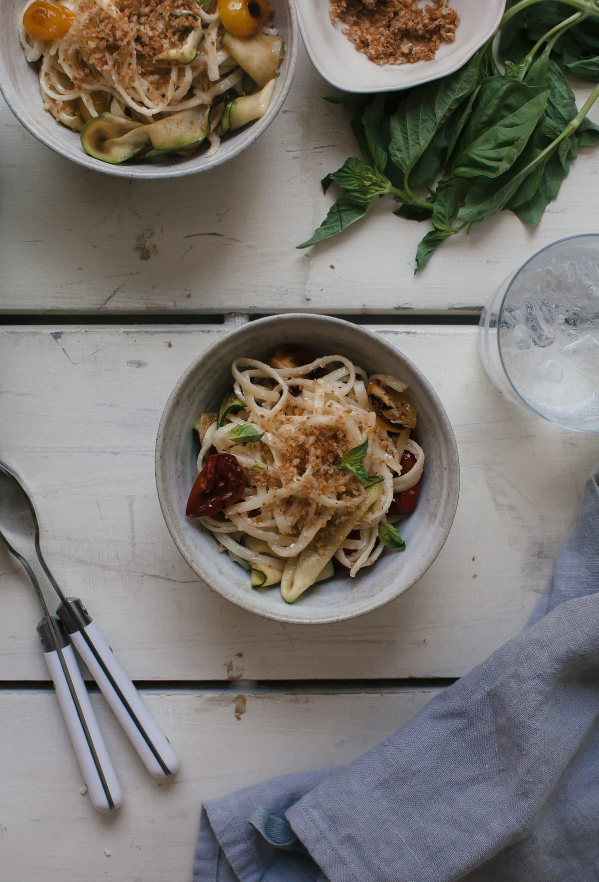One-Pot Summer Veggie Pasta