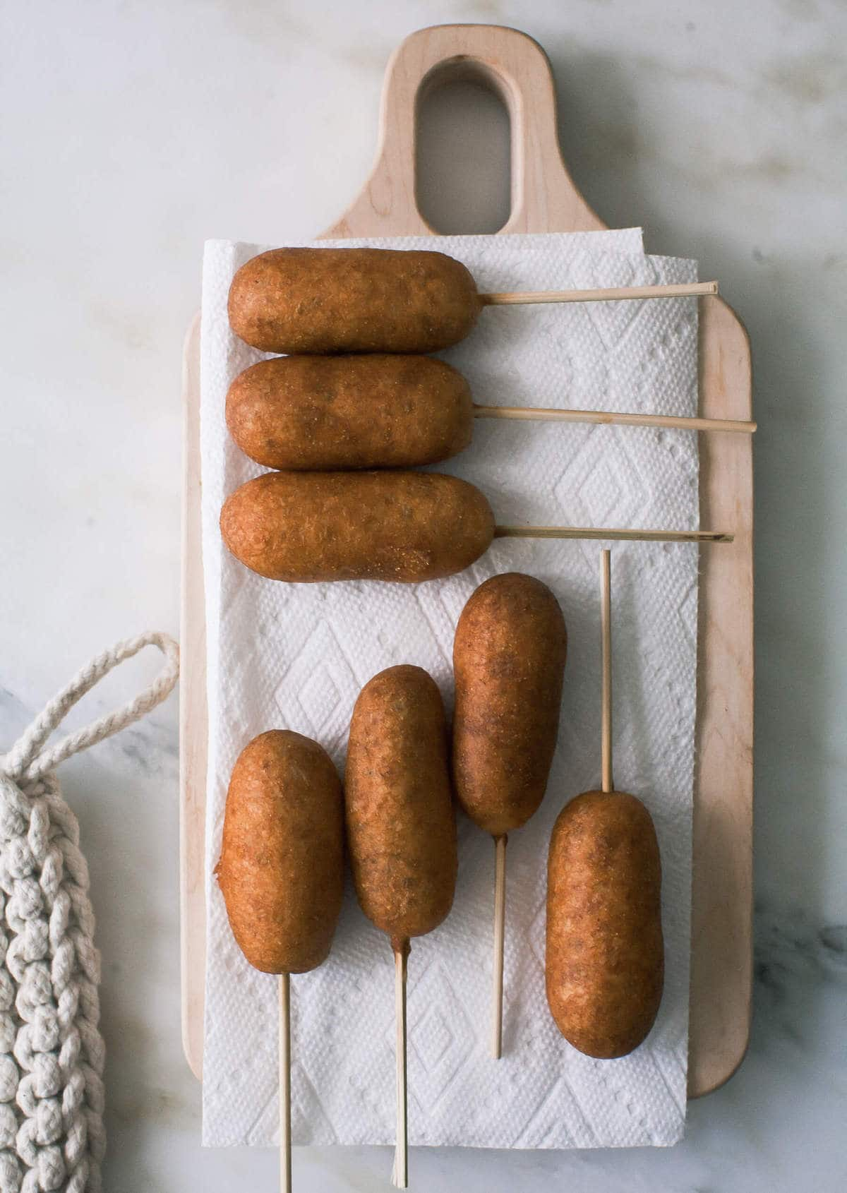 Breakfast Corndogs