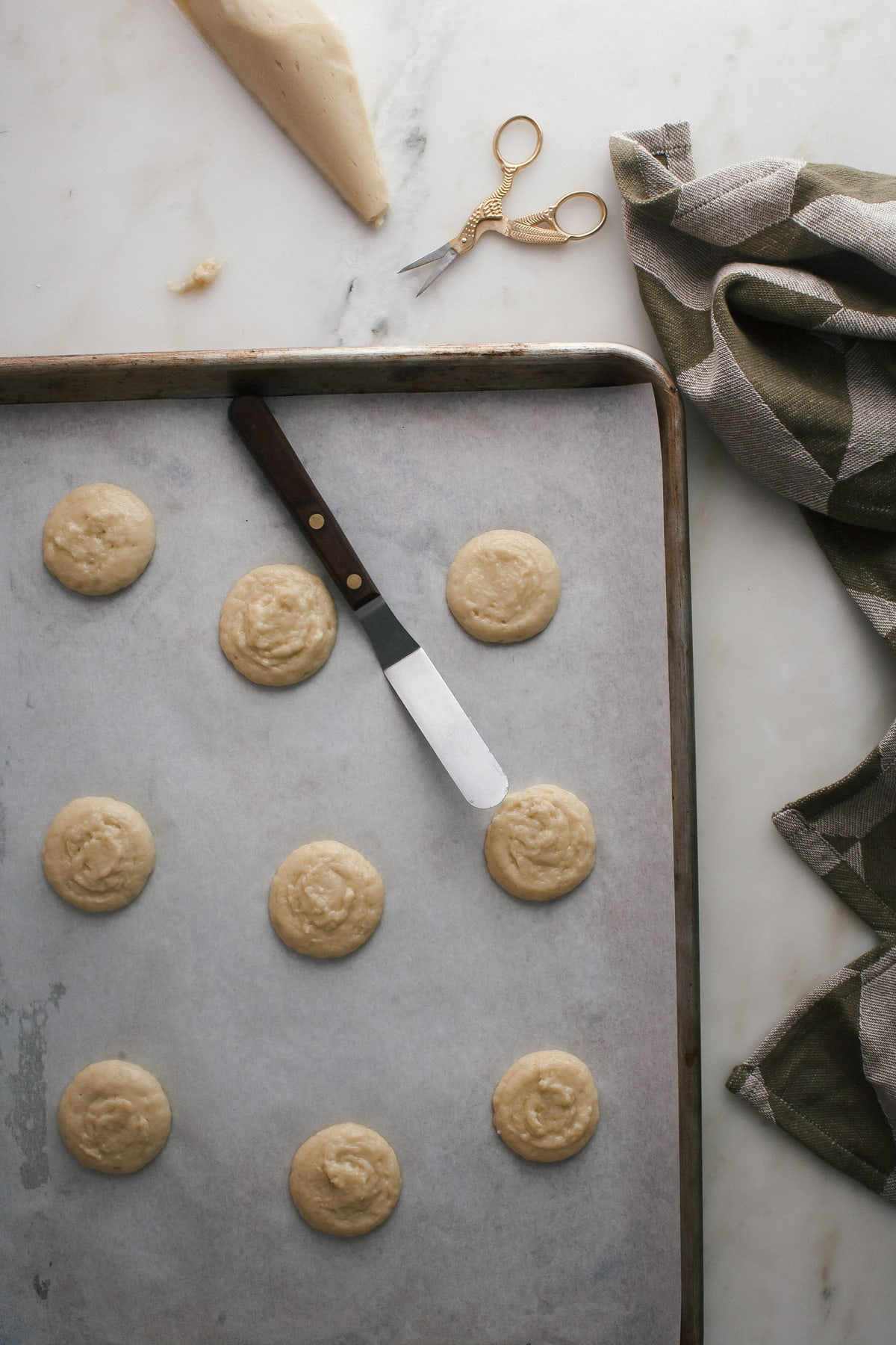 Olive Oil Cake Cookies with Blackberry Frosting