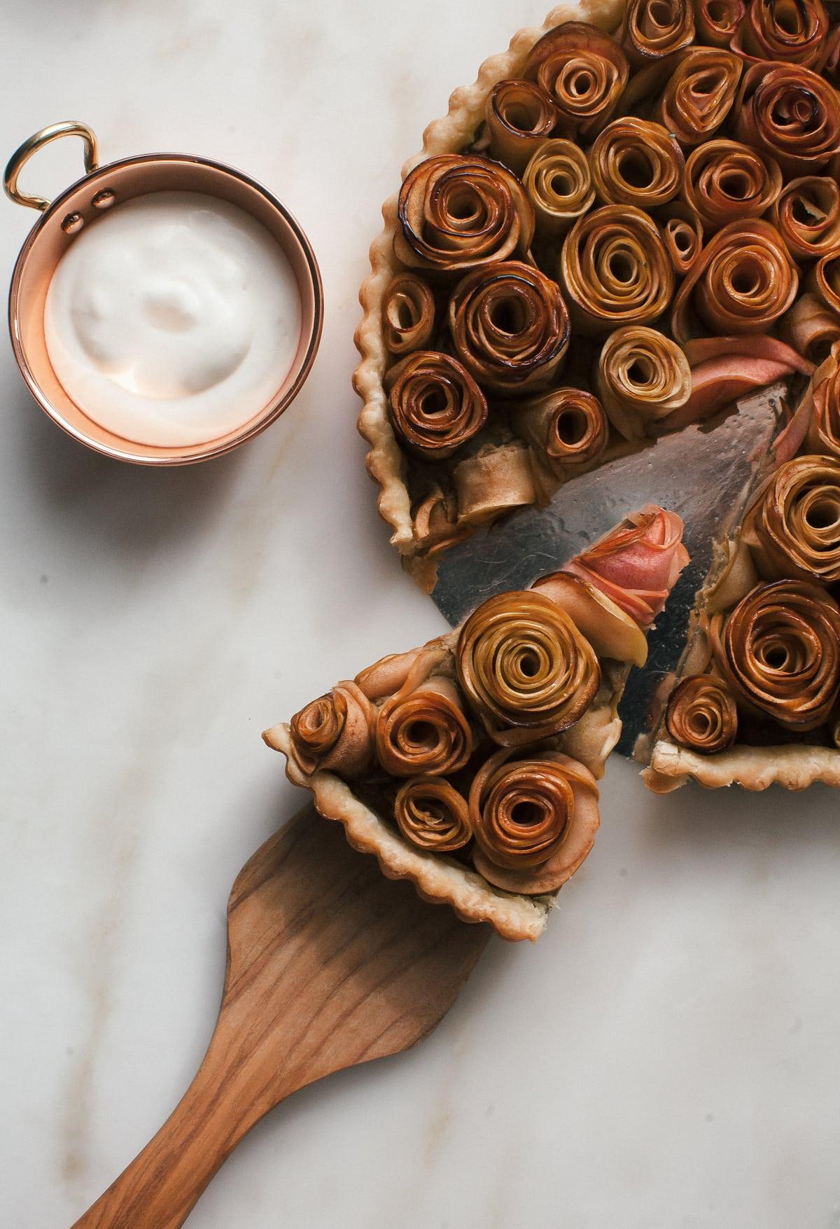 how to make rose apple tarts