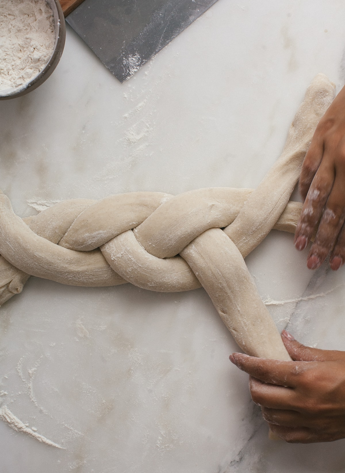 Swedish Cardamom Braided Loaf