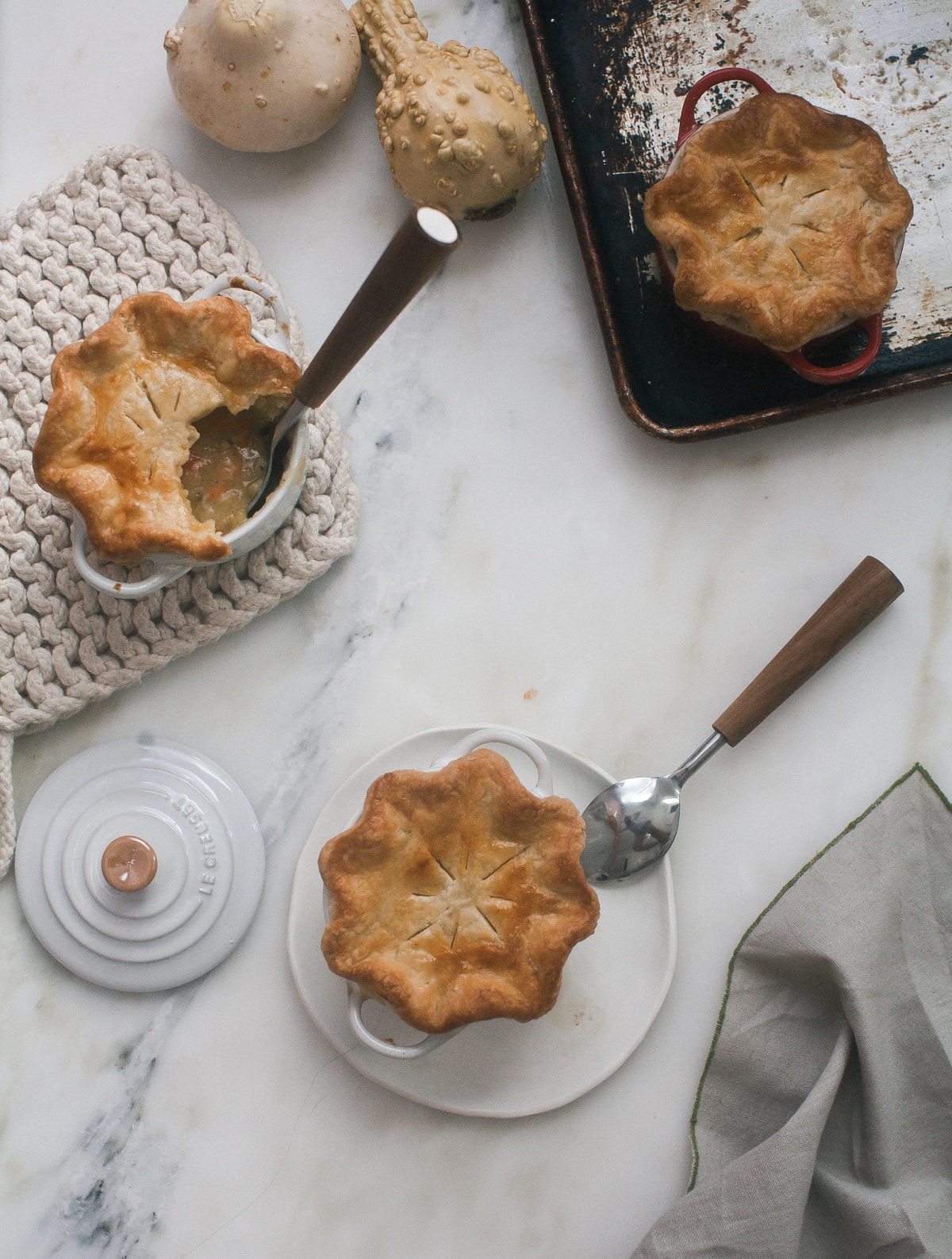 Veggie Mini Pot Pies