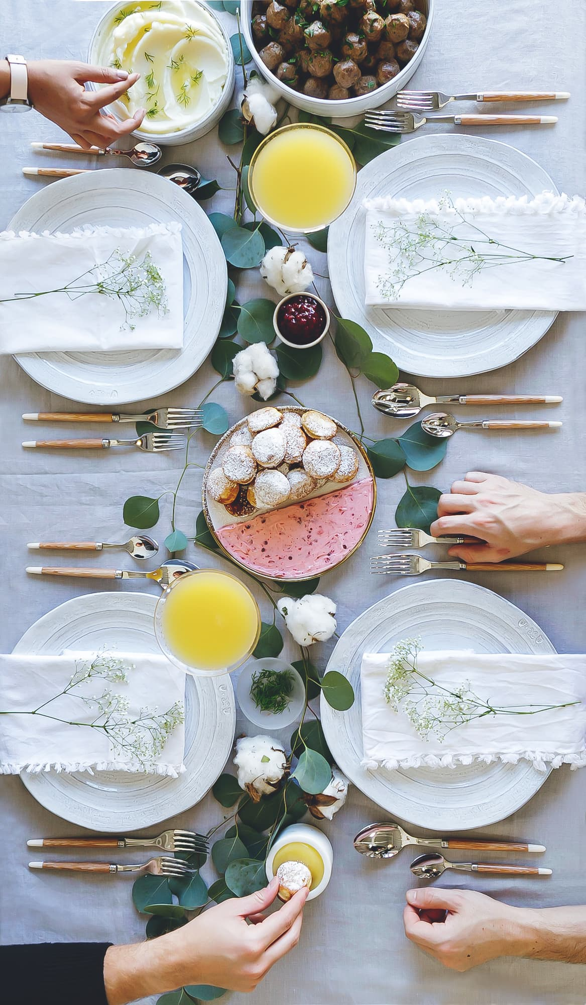 Scadinavian-Inspired Anthropologie Brunch
