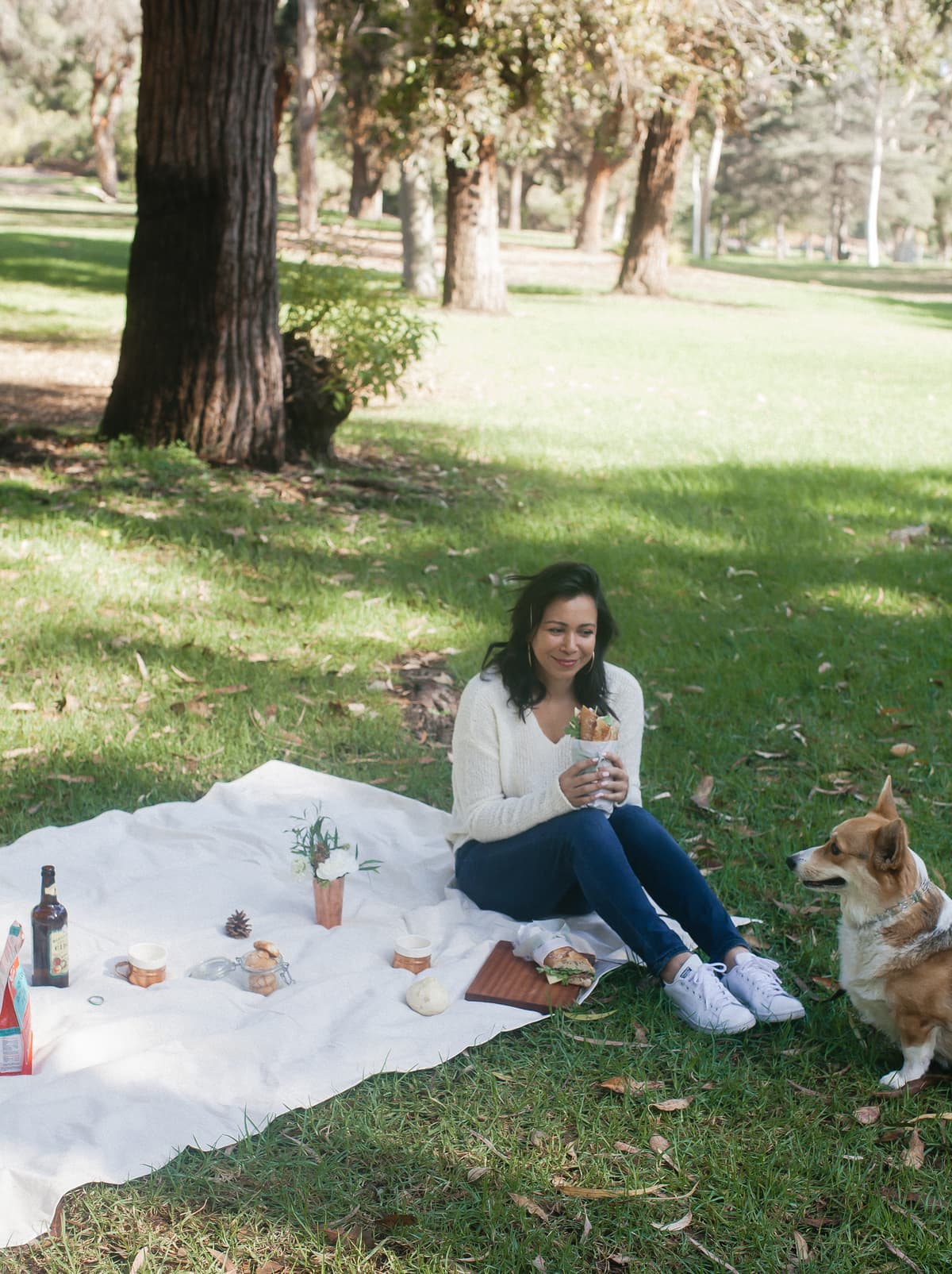 Fall Picnic with Amelia